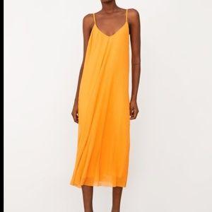 Zara Pleated Midi Tulle Dress Strappy 5039/367
